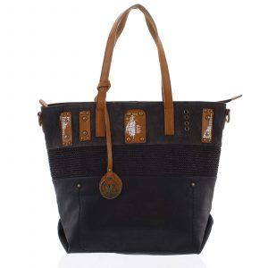 Atraktivní kabelka přes rameno černá – MARIA C Briana černá