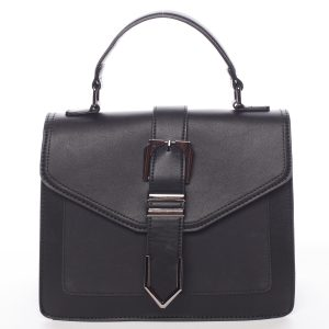 Nadčasová dámská kabelka do ruky černá – MARIA C Justice černá