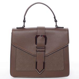 Nadčasová dámská kabelka do ruky kávová – MARIA C Justice hnědá