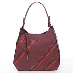 Originální dámská kabelka červená – MARIA C Raegan červená