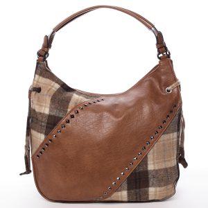 Moderní dámská kabelka hnědá – MARIA C Sarai hnědá