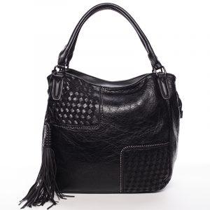 Trendy dámská měkká kabelka černá – MARIA C Kadence černá
