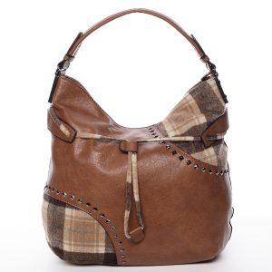 Originální dámská kabelka hnědá – MARIA C Skyler hnědá