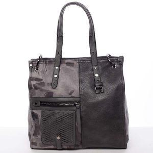 Nadčasová dámská kabelka do ruky šedá – MARIA C Jemma šedá