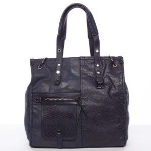 Nadčasová dámská kabelka do ruky modrá – MARIA C Jemma modrá