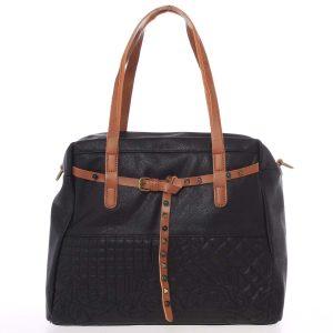 Jedinečná dámská kabelka černá – MARIA C Jocelynn černá