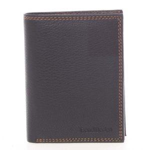 Luxusní pánská kožená černá volná peněženka – SendiDesign Rodion černá