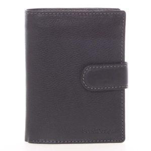 Černá pánská kožená peněženka – SendiDesign Sampson černá
