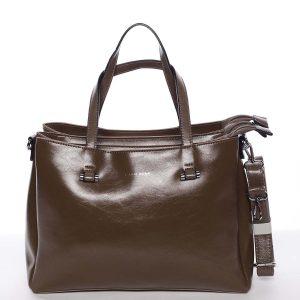 Hnědá elegantní kabelka – Silvia Rosa Saba hnědá