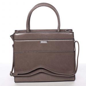 Dámská písková atraktivní kabelka – Silvia Rosa Selena taupe