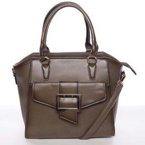 Luxusní dámská khaki kabelka přes rameno – MARIA C Thia Khaki