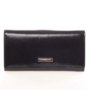 Luxusní dámská kožená peněženka černá – Lorenti 4003N černá
