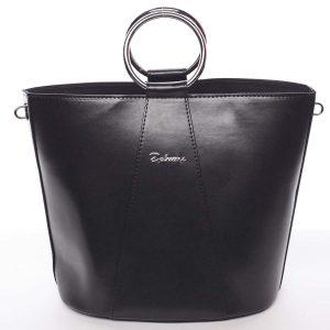Nadčasová dámská kabelka s organizérem černá – Delami Karsyn vínová