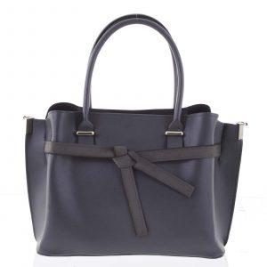 Trendy dámská kabelka do ruky šedá – Delami Giovanna šedá