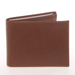 Pánská kožená koňaková peněženka – Delami Colbey koňak