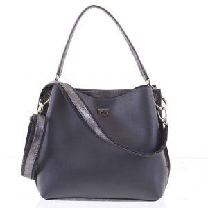 Moderní dámská kabelka šedá – Delami Trecia šedá