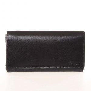 Dámská kožená černá peněženka – Delami CHAGL04104 černá