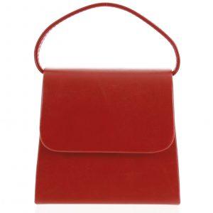 Luxusní dámské psaníčko/kabelka červené – Delami Viseria červená