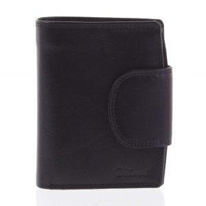 Kožená elegantní černá peněženka pro muže – Delami 1342CHA černá