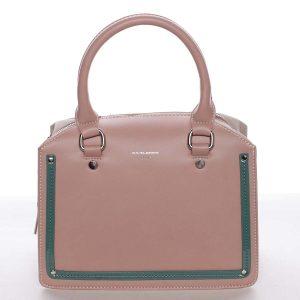 Malá originální dámská kabelka do ruky růžová – David Jones Aglaia růžová
