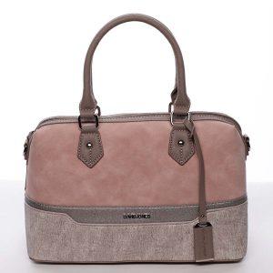 Elegantní a módní růžová dámská kabelka do ruky – David Jones Lizz růžová