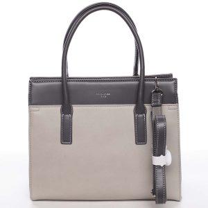 Dámská stylová a elegantní šedá kabelka – David Jones Gia šedá