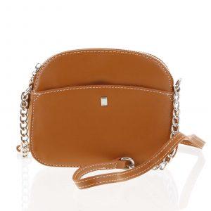 Dámská oranžová crossbody mini kabelka – David Jones Shirley oranžová