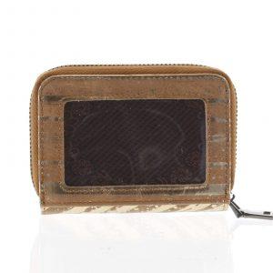 Malá dámská peněženka kožená zlatá – Rovicky 5157 zlatá