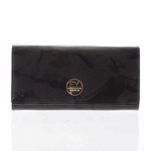 Elegantní dámská kožená peněženka olivová – Rovicky 64003 zelená