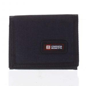 Peněženka látková černá – Enrico Benetti 4600 černá