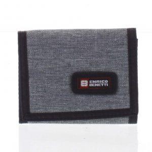 Peněženka látková světle šedá – Enrico Benetti 4600 šedá