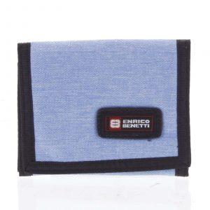 Peněženka látková světle modrá – Enrico Benetti 4600 modrá