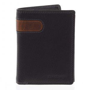 Pánská kožená peněženka černá – SendiDesign Parah černá