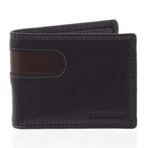 Pánská kožená peněženka na karty černá – SendiDesign Sinai černá