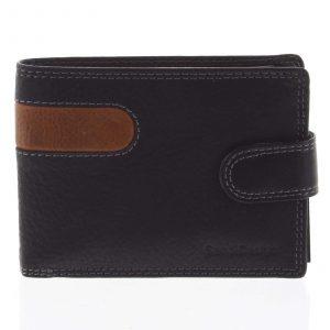 Nejprodávanější pánská kožená peněženka černá – SendiDesign Tarsus černá