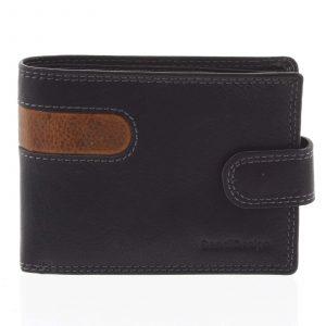 Oblíbená pánská kožená peněženka černá – SendiDesign Igeal černá