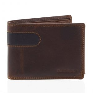 Business pánská kožená peněženka hnědá – SendiDesign Joel hnědá