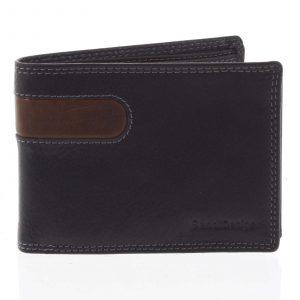 Business pánská kožená peněženka černá – SendiDesign Joel černá