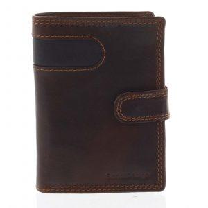 Pánská kožená peněženka hnědá – SendiDesign Elam hnědá
