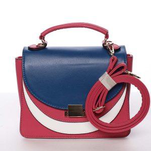Originální malá dámská kabelka fuchsiová – Dudlin Sandra růžová