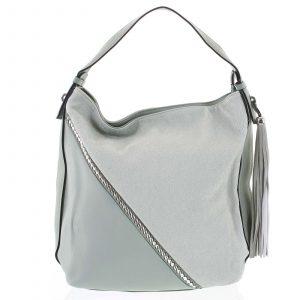 Originální zelená dámská kabelka přes rameno – Maria C Megumi zelená