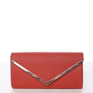 Atraktivní dámské psaníčko červené – Michelle Moon Brush červená