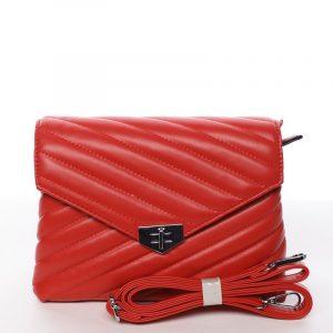 Módní originální crossbody kabelka červená – Silvia Rosa Nastaran červená