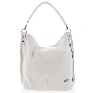Elegantní dámská kabelka přes rameno krémově bílá – Ellis Negina bílá