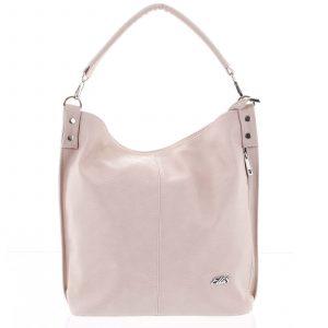 Elegantní dámská kabelka přes rameno růžová – Ellis Negina růžová