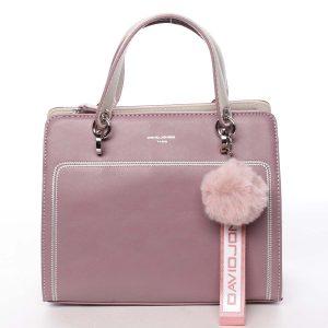 Dámská kabelka do ruky fialově růžová – David Jones Adalgisa růžová