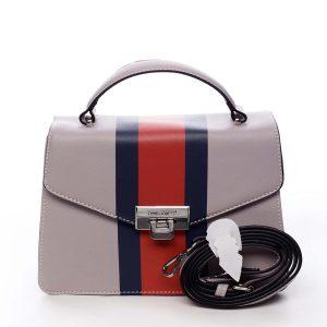 Exkluzivní menší dámská kabelka do ruky světle fialová – David Jones Shabana fialová
