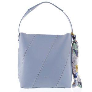 Elegantní dámská kabelka přes rameno světle modrá – David Jones Abena modrá