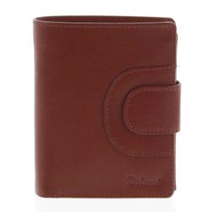 Pánská kožená peněženka červená – Delami Armando červená