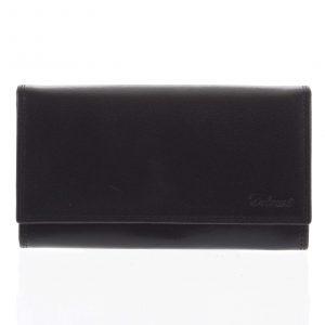 Dámská kožená peněženka černá – Delami Wandy černá